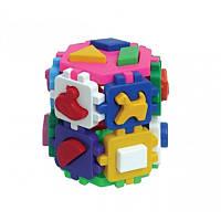 """Куб """"Розумний малюк"""" Конструктор 2001, детская развивающая игрушка, игра, кубик,сортер"""