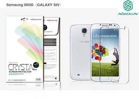Защитная пленка Nillkin Crystal для Samsung i9500 Galaxy S4 Анти-отпечатки