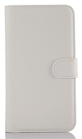 Кожаный чехол-книжка для Sony Xperia Z5 E6603 E6653 белый