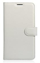 Кожаный чехол-книжка для Xiaomi Redmi note 4 / 4X белый