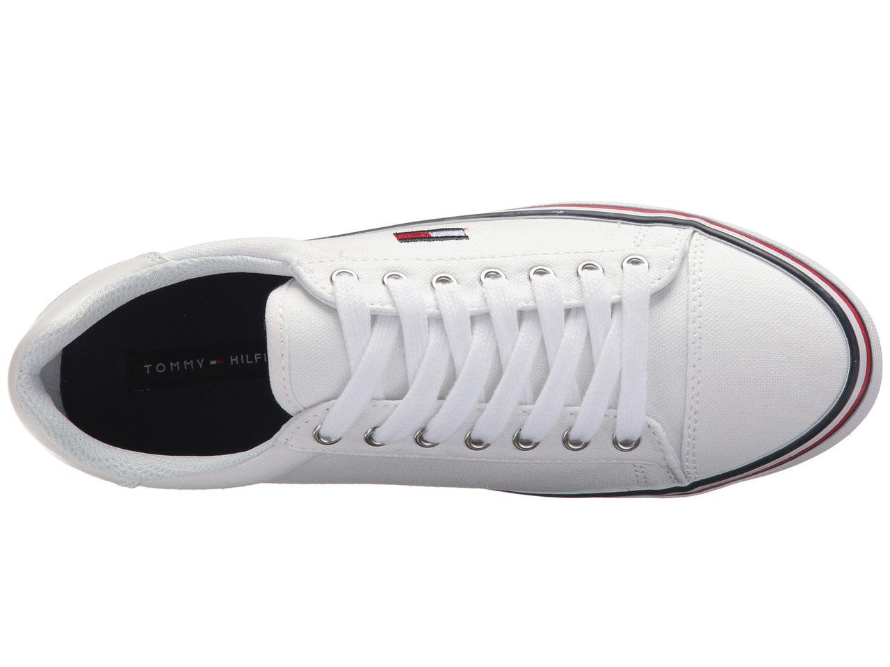 Кроссовки Кеды (Оригинал) Tommy Hilfiger Fressian White Multi Fabric ... 0def680d8c883