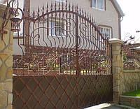 Кованные ворота 2570
