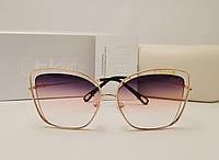 Женские солнцезащитные очки Chloe 20060 розовый градиент, фото 1