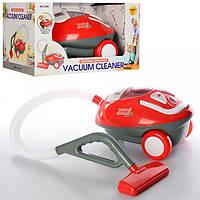 Детский игрушечный пылесос 3200, 23см, свет, шланг 63см, на бат-ке,в кор-ке, 32,5-19-20,5см.