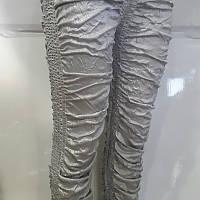 Лосины женские серебро