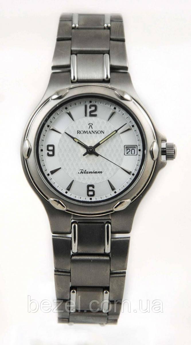 ac813c27 Мужские часы Romanson UM3140MWH WH - BEZEL - оригинальные часы в Черкассах