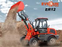 Фронтальный мини-погрузчик Everun ER12 WIELLADER, фото 1