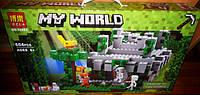 Конструктор Bela 10623 Minecraft Майнкрафт Храм в джунглях 604 дет, фото 1