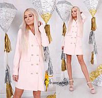 Платье -пиджак  С и М (21004)