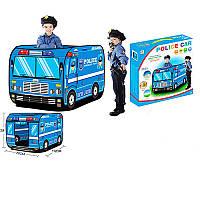 """Детская игровая палатка """"Полицейская машина"""" M 3716, 112-72-72см, 1 вход на липучке, 3 окна"""
