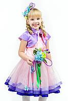 """Весна """"Розовая дымка"""" детский карнавальный костюм"""