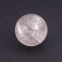 Шар сувенир из натурального горного Хрусталя d-3,4(+-)см