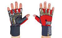 Перчатки атлетические VELO Red 3229, фото 1