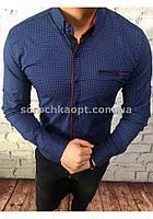 Мужская рубашка GP-022 КНОПКА (ТРАНСФОРМЕР)