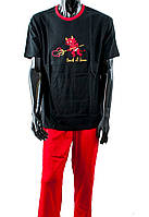 Пижама M-MAX M WALENTY KR/DL, размер XXL, хлопок, Польша