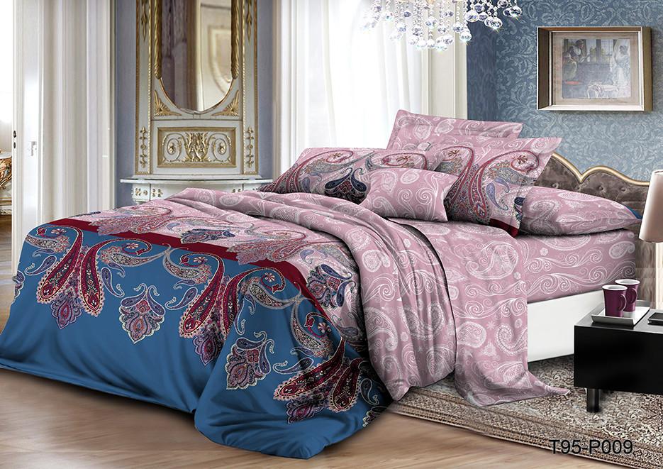 Семейный  комплект постельного белья из полиэстера Басима (100)
