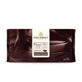 Callebaut MALCHOC Темний шоколад без цукру 54 % (Блок 1 х 5 кг)