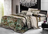 Семейный  комплект постельного белья из полиэстера  Джиоти (100)