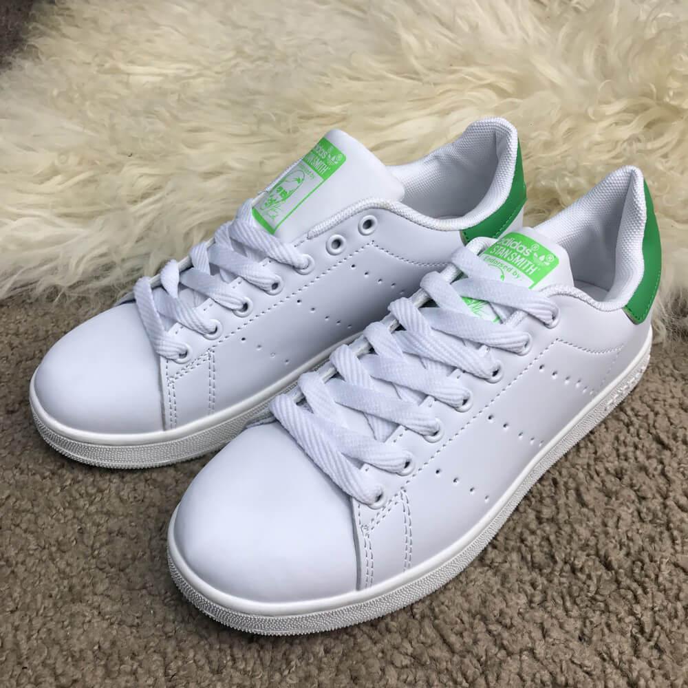 Мужские кроссовки Adidas Stan Smith Green, Копия