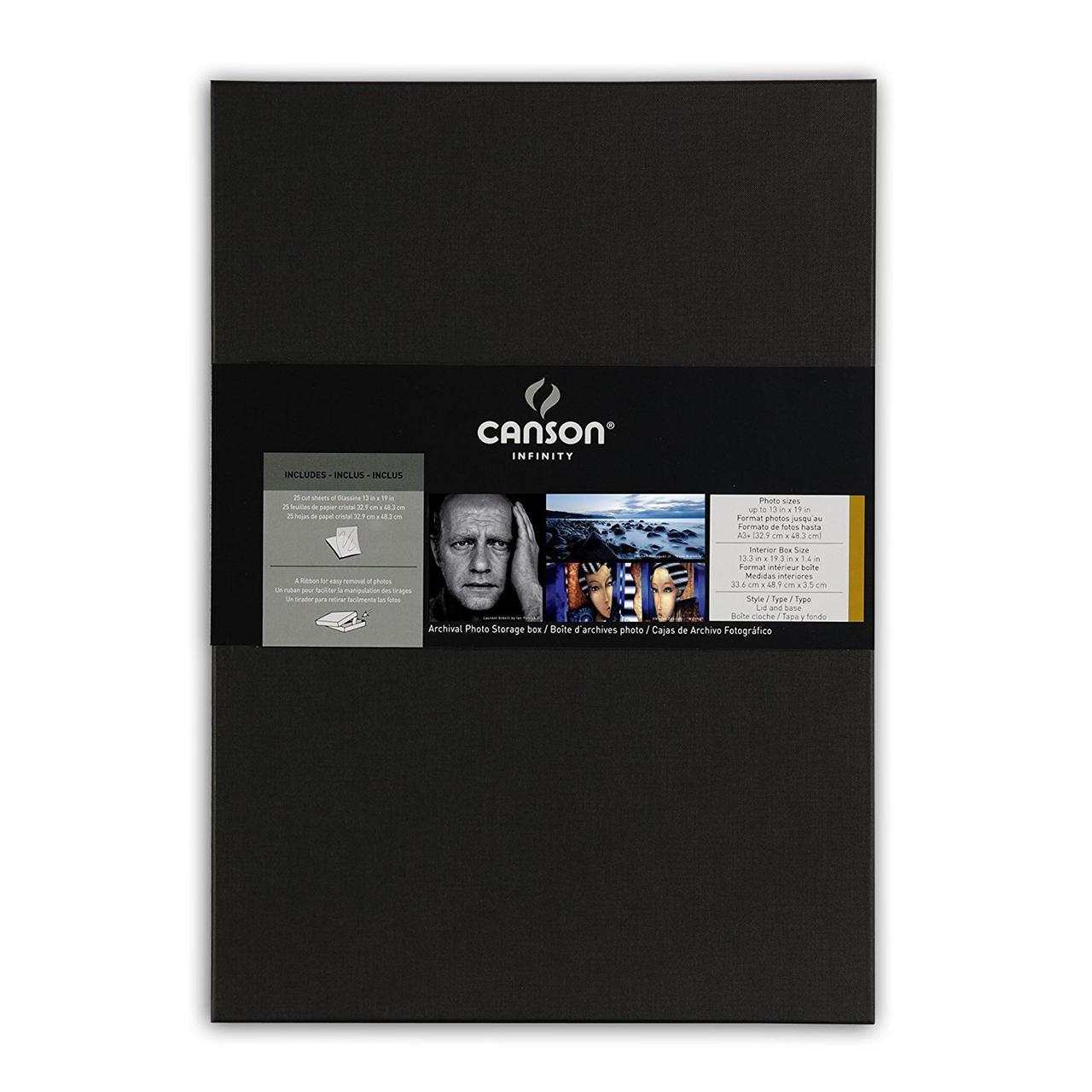 Canson Infinity Archiving Box для хранения фотографий