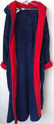 Мужской длинный махровый халат