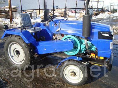 Трактор с доставкой Т 24РМН (24л.с., ремен. привод, задний ВОМ)