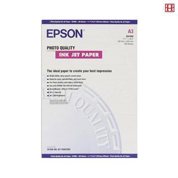 Бумага Epson S041068 Photo Quality Ink Jet Paper, А3, 100 листов