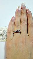 Серебряное кольцо с камнем №10з