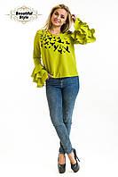 Женская блузка из креп-шифона Стая