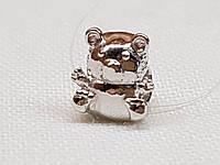 Серебряная подвеска-шарм Медвежонок. Артикул 903-00824, фото 1