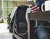 Городской рюкзак Xd Design Bobby Оригинал антивор с кодом от подделок в фирменной коробке (P705.542) серый, фото 4