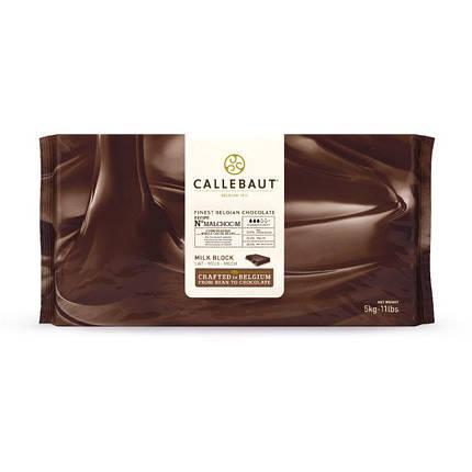 Barry Callebaut MALCHOC-М-122 Молочний шоколад без цукру 34%,  Блок 1 х 5 кг, фото 2
