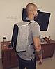 Городской рюкзак Xd Design Bobby Оригинал антивор с кодом от подделок в фирменной коробке (P705.542) серый, фото 5