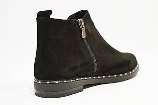 Ботинки замшевые женские Kento 1071, фото 3