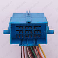 Разъем электрический 35-и контактный (44-29) б/у