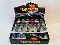 Игрушка лазер+фонарик 24 шт./уп.