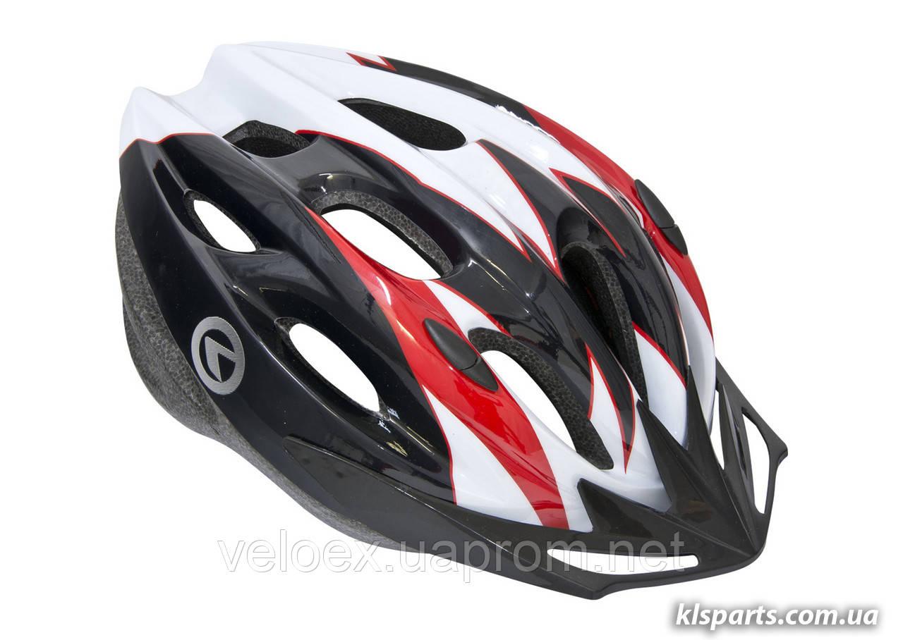 Шлем KLS BLAZE белый-красный