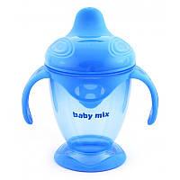 Поильник-непроливайка Baby Mix 200 ml RA-C1-1711 blue