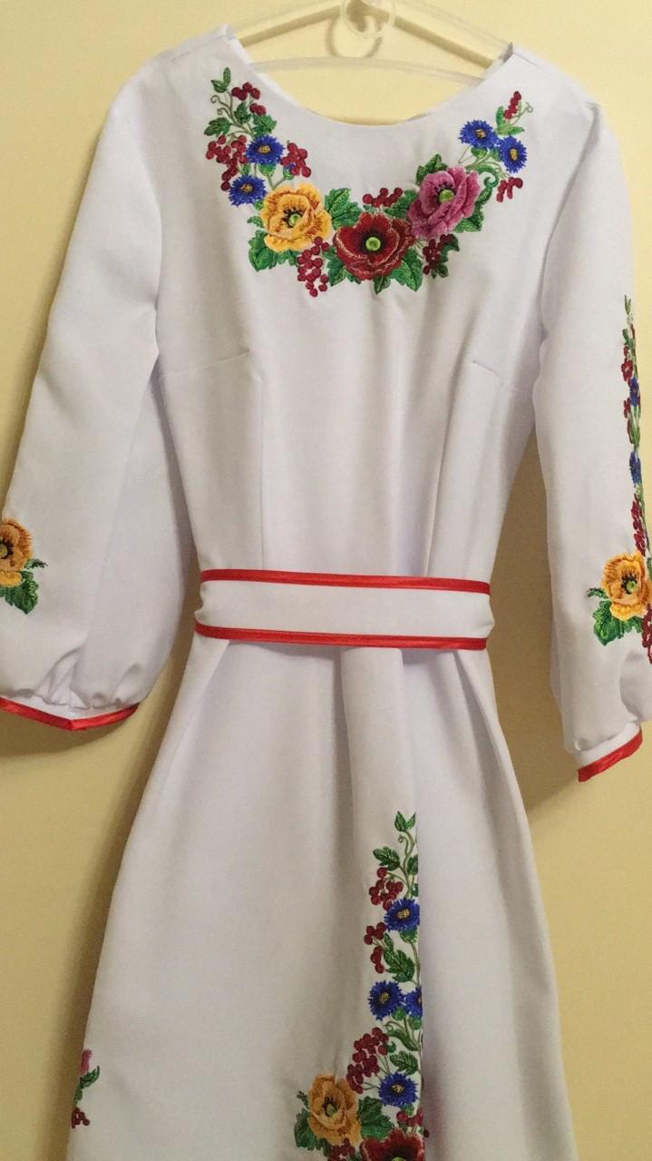 Сукня вишита для дівчинки машинна робота 146-164 ріст  продажа 291eef1beb2d2