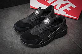 Кроссовки мужские  Nike Huarache Ultra, черные (Код: 11442) [  45 (последняя пара)  ]