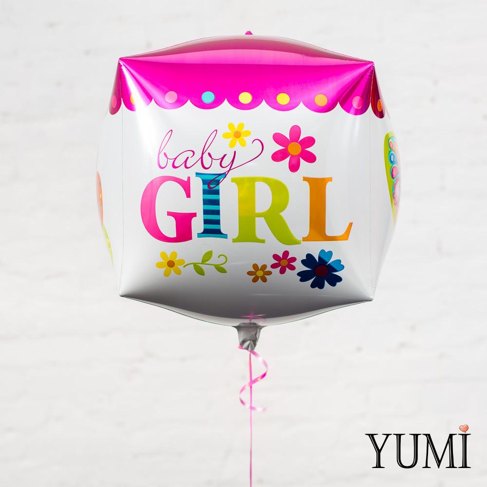 "Куб розовый ""Baby Girl"""