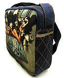 Джинсовая сумочка KISS, фото 2