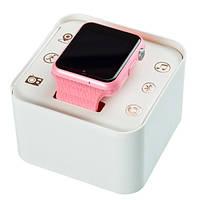 Умные детские часы Homebarl V7K GPS Pink