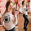 Модная женская кофта Элиса молочная