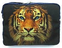 Джинсовая сумочка Тигр