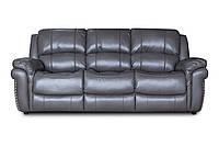 Диван раскладной Милтон серый и два кресла
