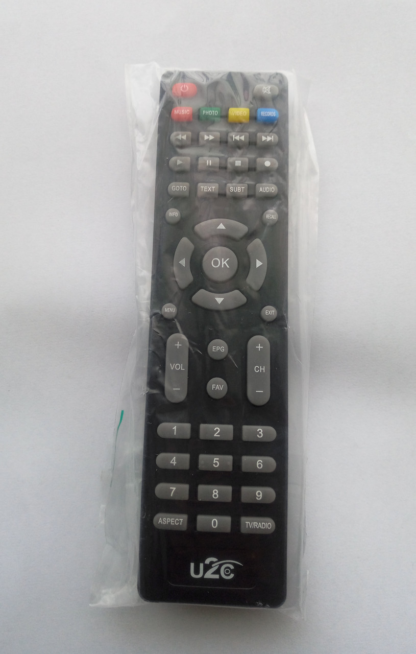 Пульт ДУ  для Uclan U2C  DVB-T2 T2 HD Plus