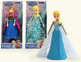 "Кукла ""Frozen Fever"" Анна и Эльза, 2 вида, музыкальные. арт. 022/11 (8011/22) HN"