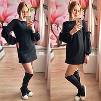 Короткое платье-туника с бантами Ларго