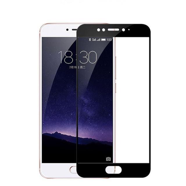 Защитное стекло Meizu MX6 full cover black